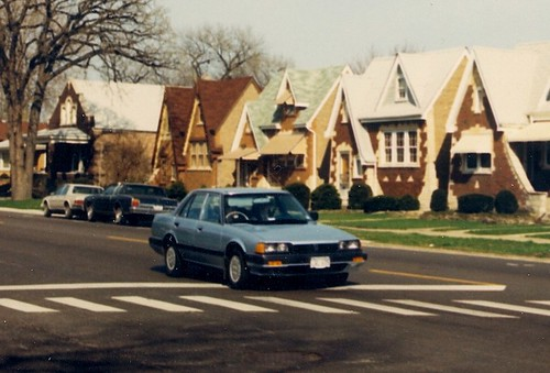 Springtime in Berwyn Illinois.  April 1988. by Eddie from Chicago