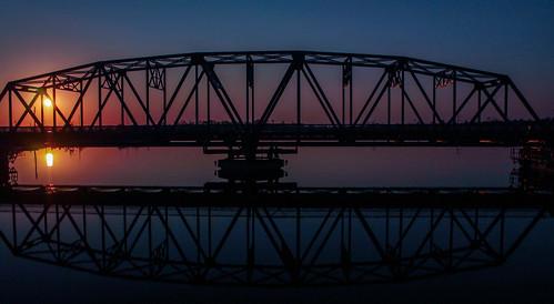bridge sunrise stmarysriver