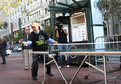 Ping Pong Popup with Mayor 11-2-2012