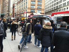Free food on Astor Place