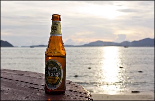 Phuket Sunset and Beer Chang
