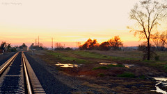 Rocklin Rail Sunset