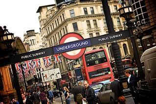 Metro de Londres.