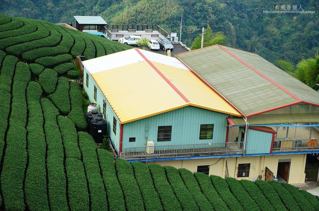 八卦茶園農舍