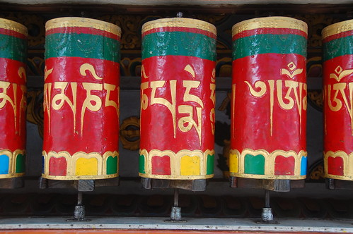 Prayer wheels McLeod Ganj
