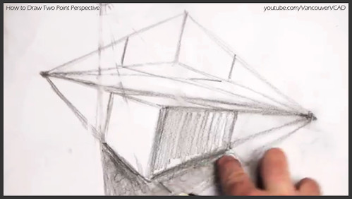 2D design how to draw in two point perspective 016
