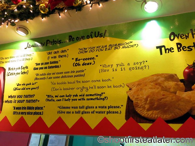 De Original Jamaican Pattie Shop menu-003