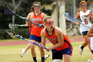 Martha Marich '12 led the nation in scoring with 113 goals for the women's lacrosse team in 2010.