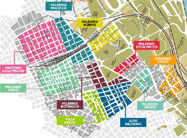 Mapa de Palermo