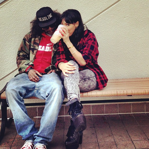 Yaris Sanchez and Ab Soul together (1)
