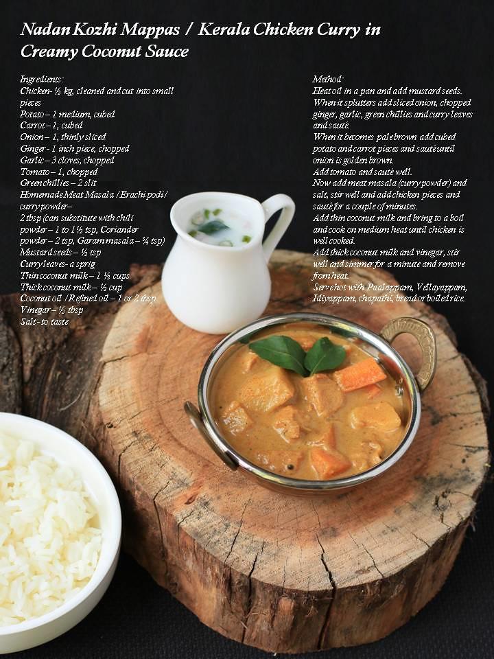 Swapnas cuisine nadan kozhi mappas chicken mappas kerala kerala kozhi curry forumfinder Gallery