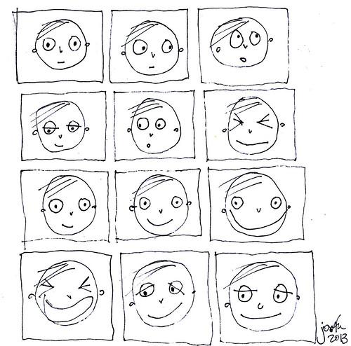 Expresiones De Los Estados De Animo En Dibujos Para Colorear