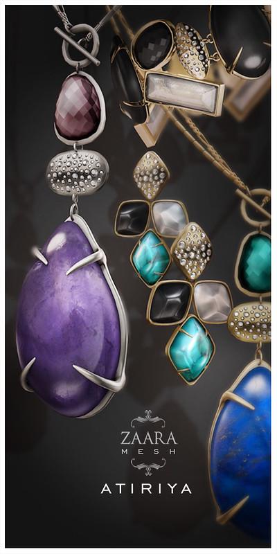 Zaara : Atiriya Mesh Jewelry 1