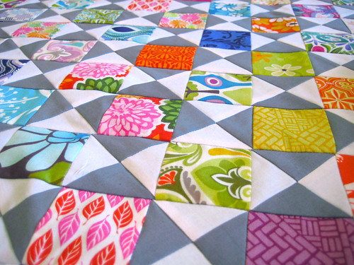 Juicy - mini version of my quilt in Modern Quilts from the Blogging Universe