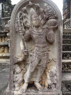 Image of Vatadage near Polonnaruwa.