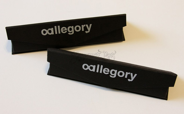 Allegory Pens Packaging