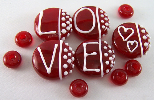 L.O.V.E. Valentine Bead Set