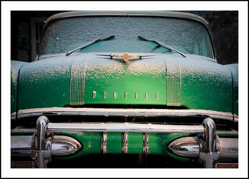 Pontiac in de sneeuw (4) by hans van egdom