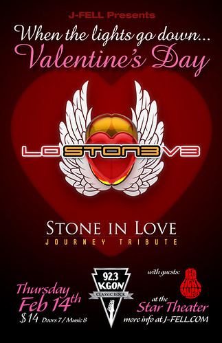 Portland Valentine's Day w/ Stone in Love @ Star Theater