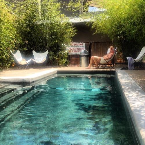 Hotel San Jose poolside