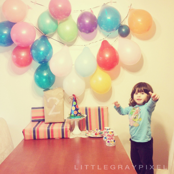 a letter to my daughter on her 2nd birthday