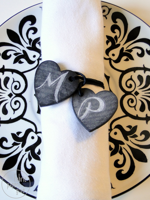 Wood Heart Napkin Ring (2)