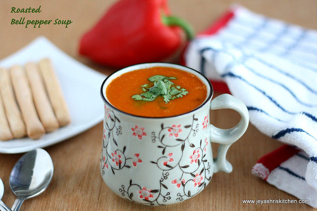 Bell pepper soup 1