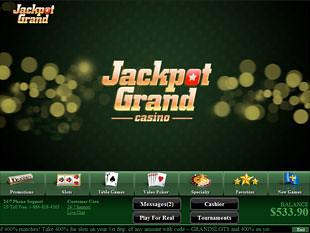 Jackpot Grand Casino Lobby