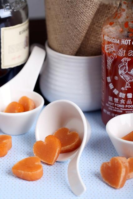 Whisky-Sriracha Candy
