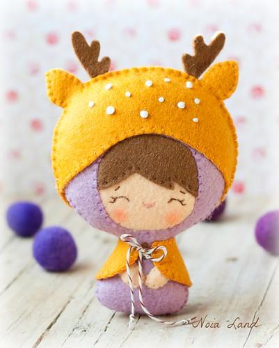 Bebé disfrazado de ciervo (35/365)