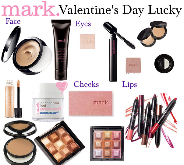 Living After Midnite: mark. Makeup Monday: Valentine's Day Lucky