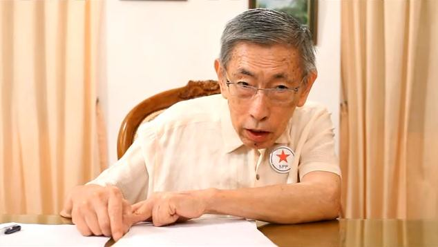 Mr Chiam See Tong, Secretary-General of the Singapore People's Party
