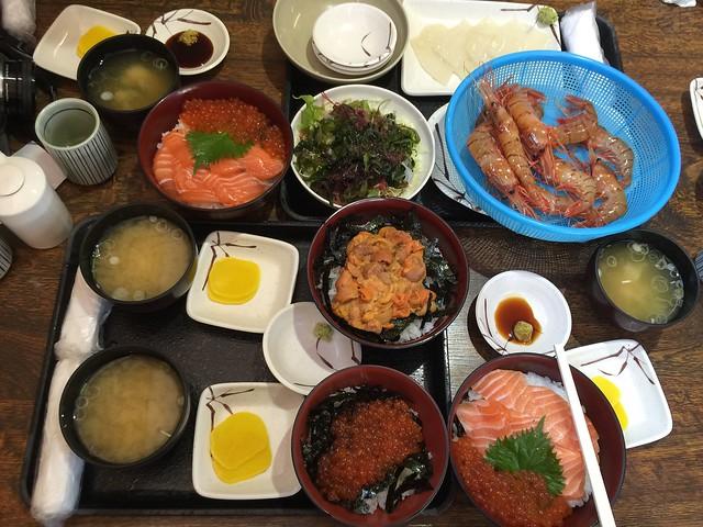 20151007 柿崎商店 海鮮工房@北海道