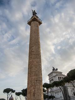 Imagen de Columna de Trajano. trajanscolumn rome antquity