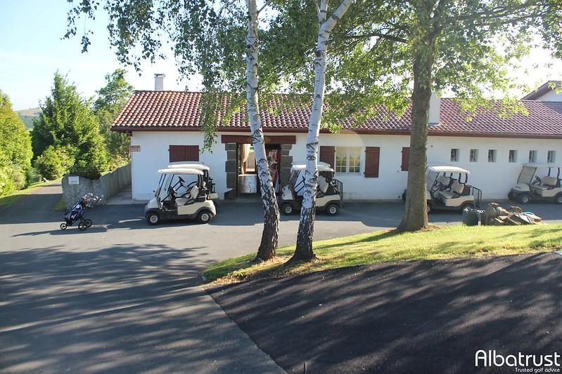 photo du golf  Golf d'Ilbarritz - Parking