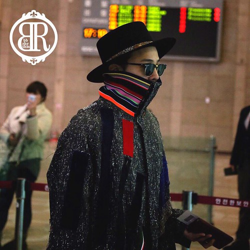 Big Bang - Gimpo Airport - 15jan2015 - G-Dragon - BB Rhythm - 01