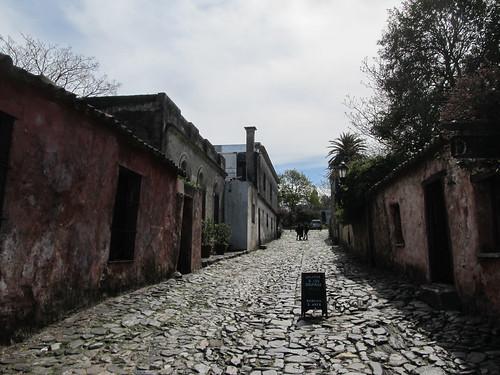 Colonia del Sacramento: la fameuse Calle de los Suspiros