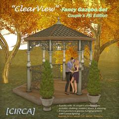 "@ SOS - [CIRCA] - ""ClearView"" - Fancy Gazebo Set PG - Verde"