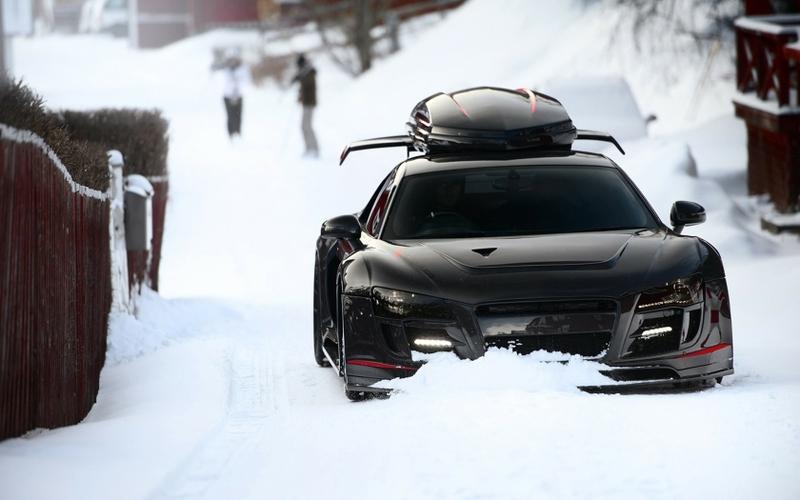 snow audi r8 black cars jon olsson ppi razor gtr 1680x1050 wallpaper_www.wallpaperhi.com_94