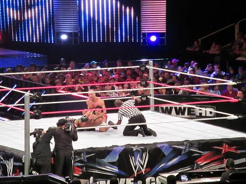 October 9: Live Wrestling Show