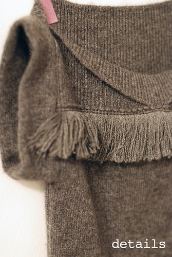 sewing details fringe