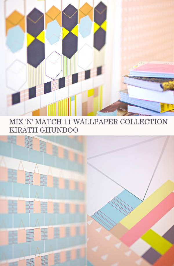 Mix 'n' Match 11 Wallpaper Collection by Kirath Ghundoo | Emma Lamb