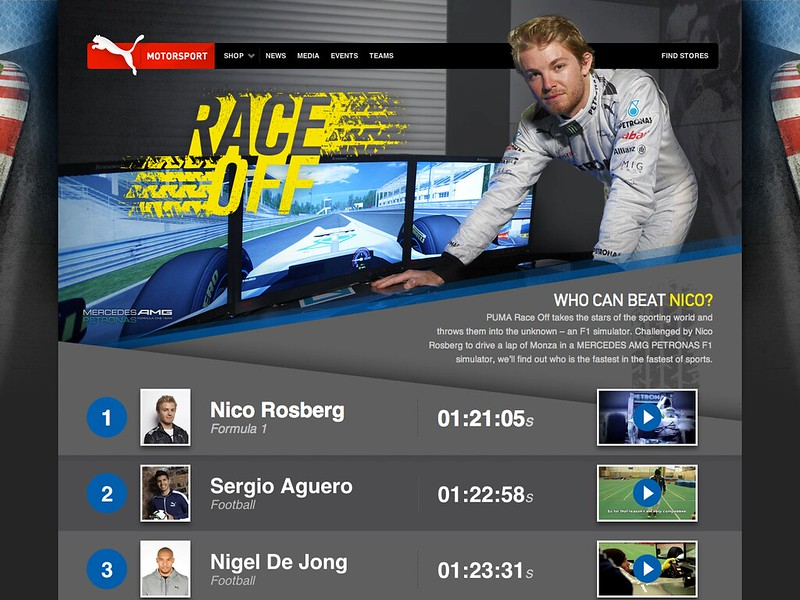 PUMA Motorsport Race-off