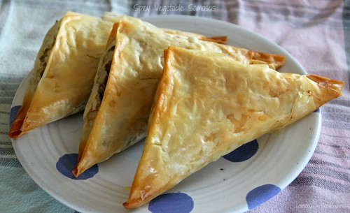 Spicy Vegetable Samosas 3