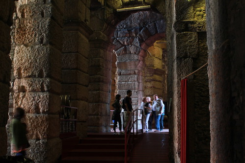 Arena di Verona: i corridoi