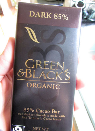 Green and Black 85% Dark Choclate