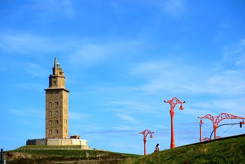 Torre de Hércules by treboada