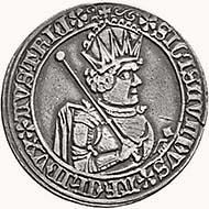 Sigismund of Tyrol Half guldiner 1484