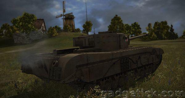 британская ветка World of Tanks fv4202