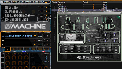 Intel Mac OS X Requirements for Syntheway VST Plugins - Magnus Choir and V-Machine VFX Platform / Apple's Boot Camp Software by syntheway